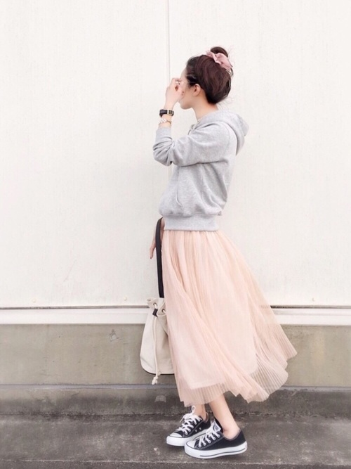 【やっちゃいけないNGファッション】脱オバサン!大人女子はフレアスカートをこう着る!LL-5L