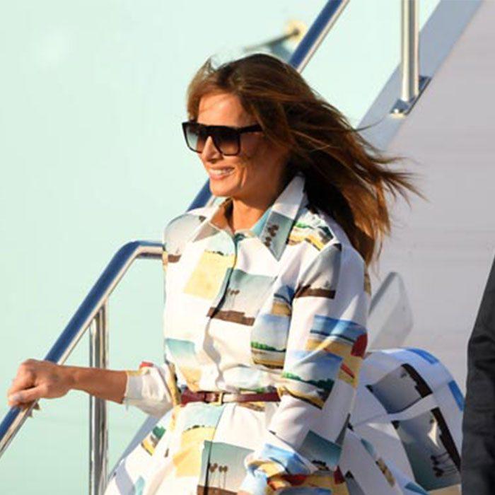 【この服お値段以上】ファッションで振返る訪日☆メラニア米大統領夫人のコーディネートに注目LL-5L