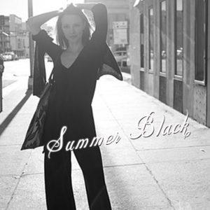 【知って得する!カラー講座】夏のBLACK☆アラフォー世代必見!着てもいい黒、ダメな黒  LL-5L