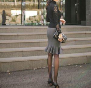 【体型隠しのセオリー】プリンセスの新常識!?着痩せも華やかさも手に入る「タイトスカート」の法則LL-5L