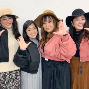 【インスタライブ】アウター着比べ!東京の読者モデルさん登場♪最後はファッションショー風でお届け☆ LL-5L