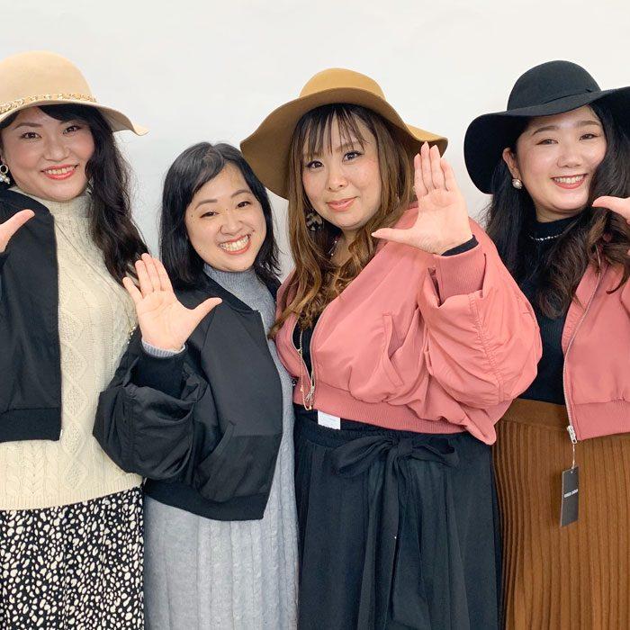 【着痩せインスタライブ動画】アウター着比べ!東京の読者モデルさん登場♪最後はファッションショー風でお届け☆ LL-5L