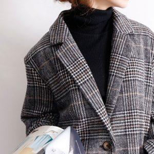 【40代50代の為のファッション】大人が魅せる冬のアウターはちょっとしたポイントをおさえるだけ!LL-8L