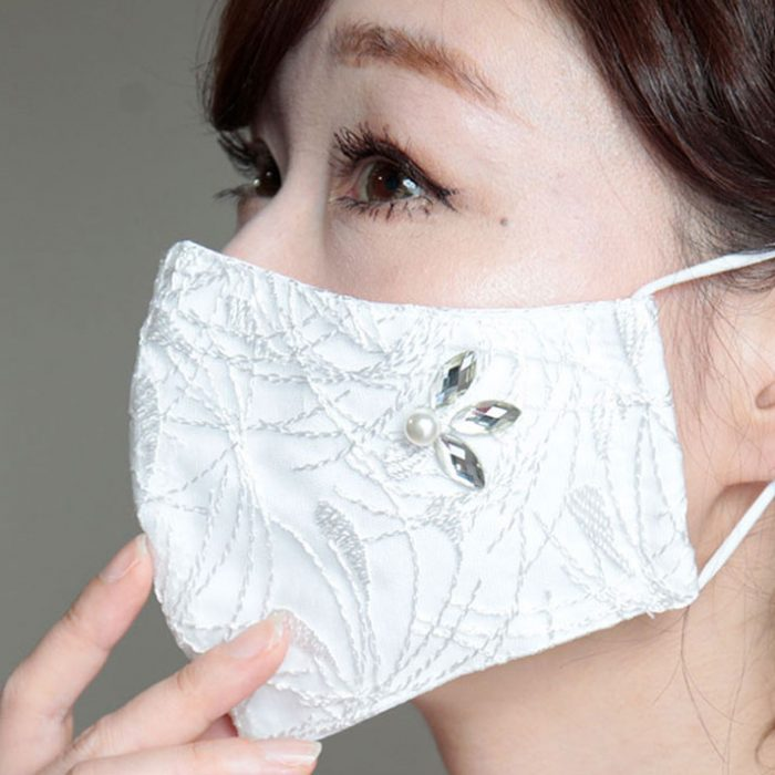 【大きいサイズのおすすめ】レースマスクにお洒落な新作が登場!コットン100%の優しい肌触り