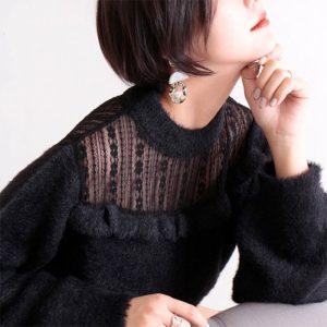 【ぽっちゃりさんにおすすめ☆】今年の冬はニットで可愛くお洒落に♪着やせスタイルを手に入れよう!S-11L