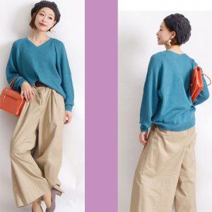 【40代50代の為のファッション】大人可愛いレディースファッションコーデ☆LL-6L